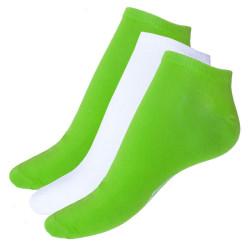 3PACK ponožky Umbro bílo zelené