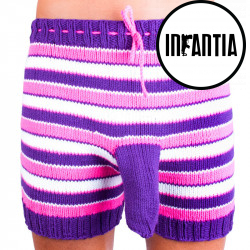 Ručně pletené trenky Infantia (PLET127)