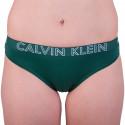 Dámské kalhotky Calvin Klein zelené (QD3637E-YG5)