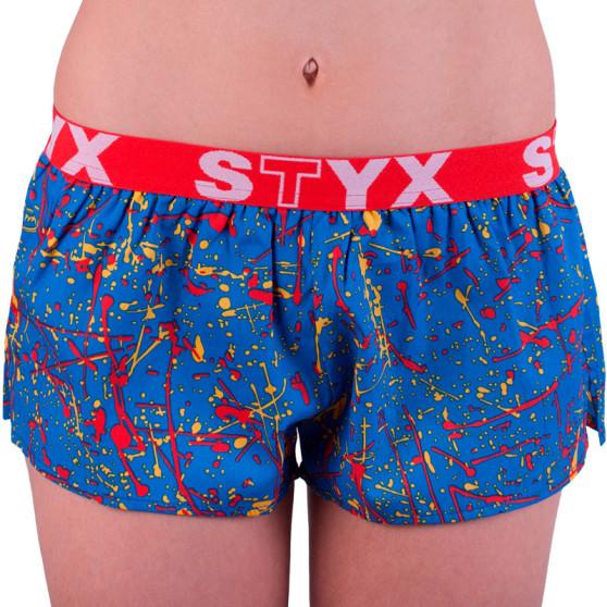 Dámské trenky Styx art sportovní guma Jáchym barevné (T755)
