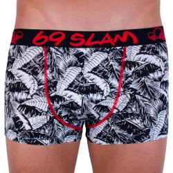 Pánské boxerky 69SLAM hip bamboo palm mono