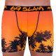 Pánské boxerky 69SLAM fit sunset orange limited edition