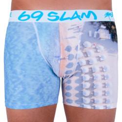 Pánské boxerky 69SLAM fit blue beach limited edition