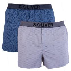 2PACK pánské trenky S.Oliver vícebarevné (26.899.97.4249.17A6)
