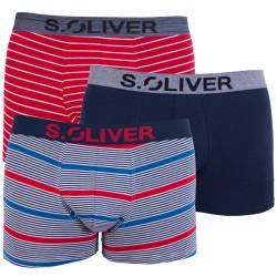 3PACK pánské boxerky S.Oliver vícebarevné (26.899.97.4255.16B6)