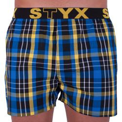Pánské trenky Styx sportovní guma vícebarevné (B705)