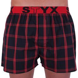 Pánské trenky Styx sportovní guma vícebarevné (B703)