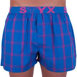 Pánské trenky Styx sportovní guma vícebarevné (B707)