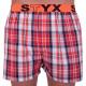 Pánské trenky Styx sportovní guma vícebarevné (B638)