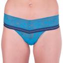 Dámská tanga Victoria's Secret modrá (ST 11129701 CC 3WOG)