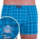 Pánské boxerky Gino modré (73085)