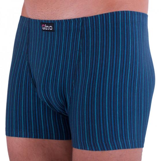 Pánské boxerky Gino modré (73084)