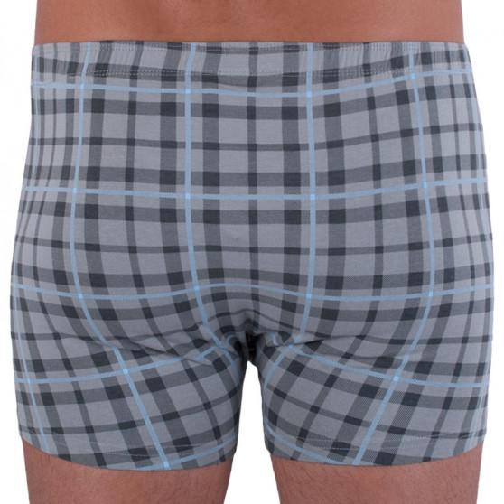 Pánské boxerky Gino šedé (73085)