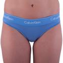 Dámská tanga Calvin Klein modrá (F3786E-PWB)