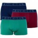 3PACK pánské boxerky Diesel vícebarevné (00SAB2-0BATB-E4328)