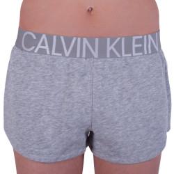 Dámské kraťasy Calvin Klein šedé (QS6260E-020)