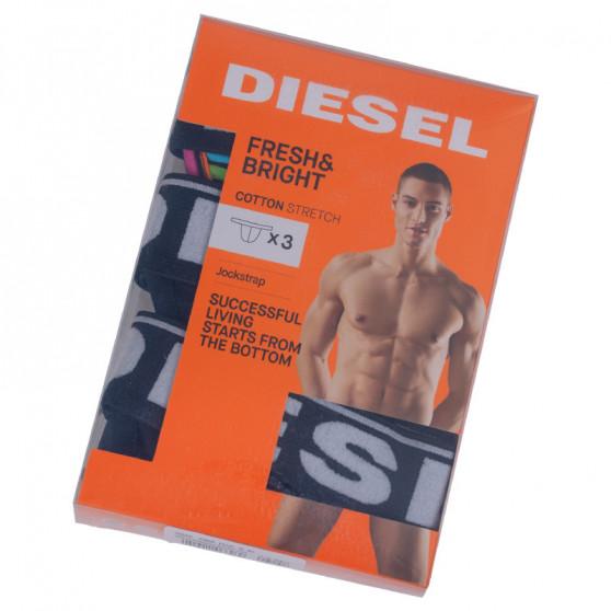 3PACK pánské jocksy Diesel vícebarevné (00SH9I-0DAVP-E4292)