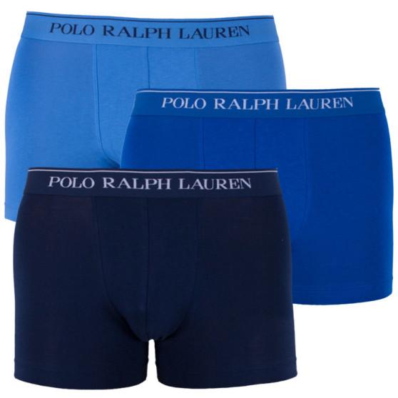 7756c3d39f 3PACK pánské boxerky Ralph Lauren modré (714513424010)
