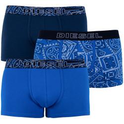 3PACK pánské boxerky Diesel modré (00ST3V-0DAVM-E4289)