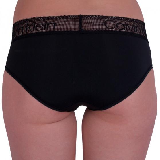 Dámské kalhotky Calvin Klein černé (QD3700E-001)