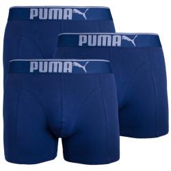 3PACK pánské boxerky Puma tmavě modré (681030001 321)