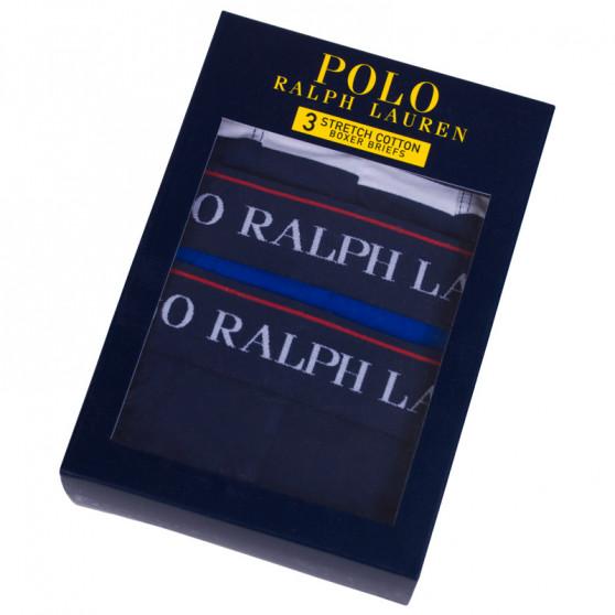 3PACK pánské boxerky Ralph Lauren vícebarevné (714730410003)