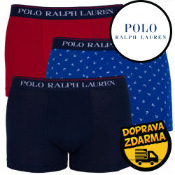 3PACK pánské boxerky Ralph Lauren vícebarevné (714662050028)