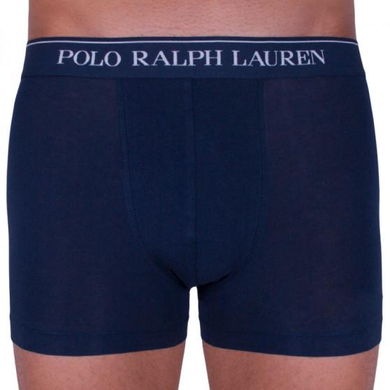 3PACK pánské boxerky Ralph Lauren tmavě modré (714513424006)