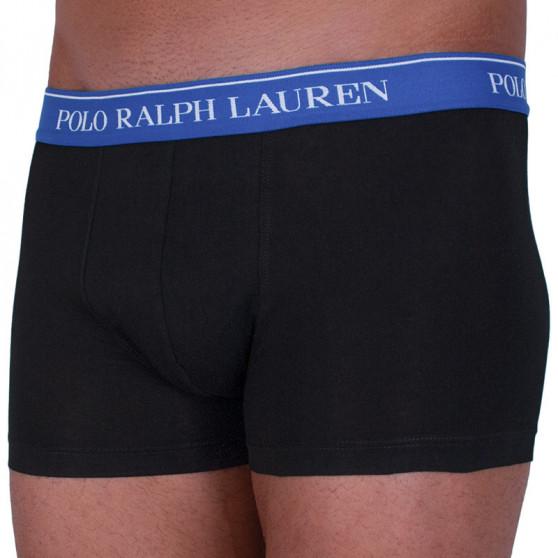 3PACK pánské boxerky Ralph Lauren černé (714662050016)