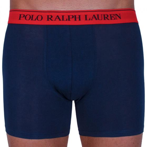 3PACK pánské boxerky Ralph Lauren tmavě modré (714713772004)