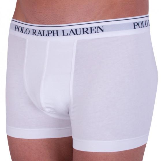 3PACK pánské boxerky Ralph Lauren bílé (714513424001)