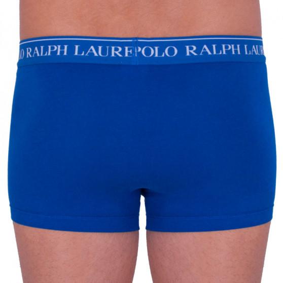 3PACK pánské boxerky Ralph Lauren modré (714662050011)