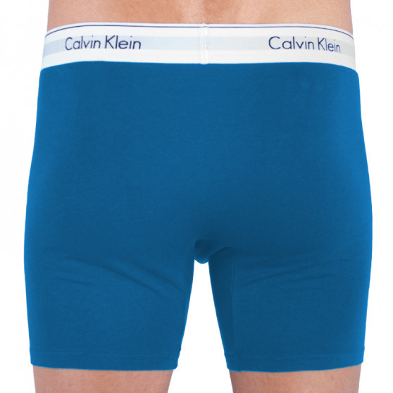 2PACK pánské boxerky Calvin Klein vícebarevné (NB1087A-SBN)