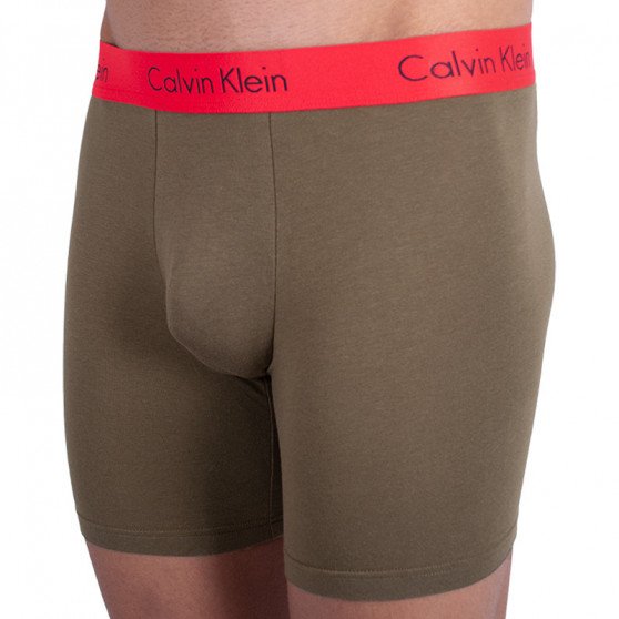 2PACK pánské boxerky Calvin Klein vícebarevné (NB1464A-JKB)