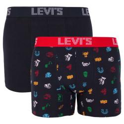 2PACK pánské boxerky Levis vícebarevné (995008001 703)