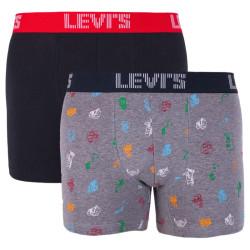 2PACK pánské boxerky Levis vícebarevné (995008001 208)
