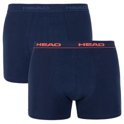 2PACK pánské boxerky HEAD tmavě modré (841001001 493)