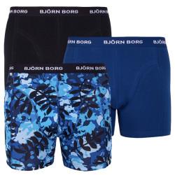 3PACK pánské boxerky Bjorn Borg vícebarevné (1911-1489 70101)