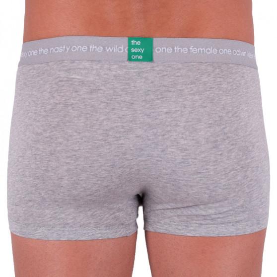 Pánské boxerky Calvin Klein šedé (NB1860A-080)