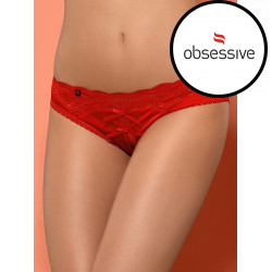 Dámské kalhotky Obsessive Lovica otevřené panties red