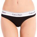 Dámská tanga Calvin Klein černá (QF5117E-001)