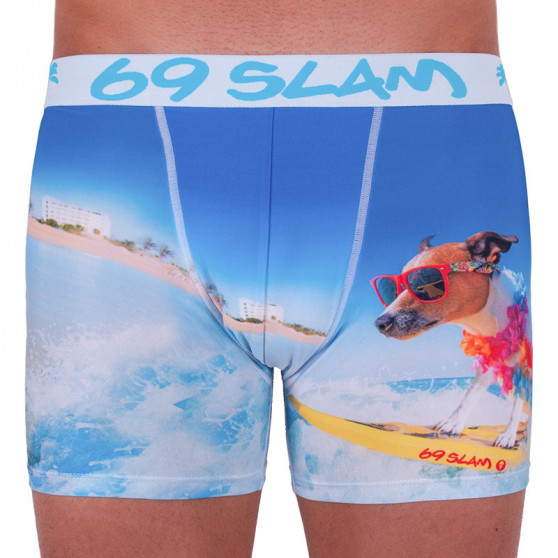 Pánské boxerky 69SLAM fit surf dog limited edition