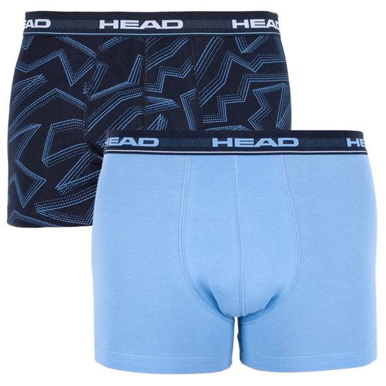 2PACK pánské boxerky HEAD vícebarevné (881400001 168)