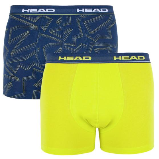 2PACK pánské boxerky HEAD vícebarevné (881400001 007)