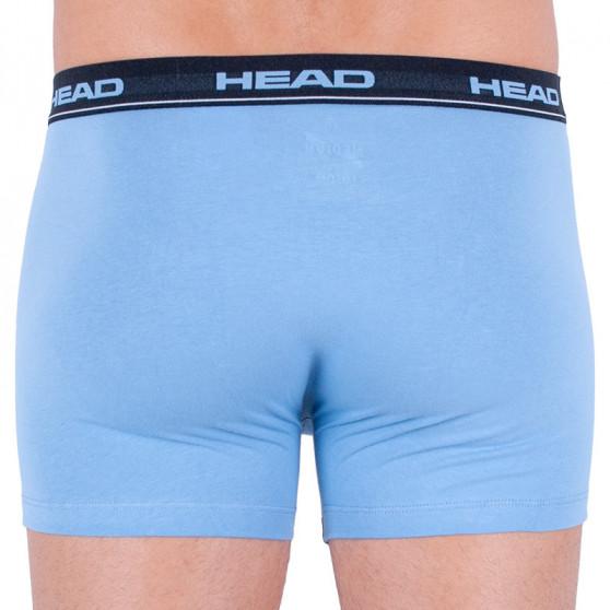 2PACK pánské boxerky HEAD modré (881300001 168)