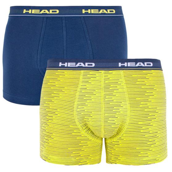 2PACK pánské boxerky HEAD vícebarevné (881300001 007)