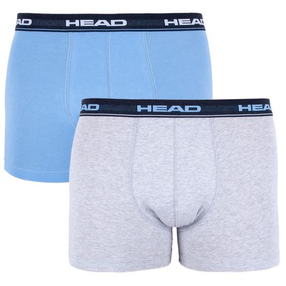 2PACK pánské boxerky HEAD vícebarevné (841001001 168)