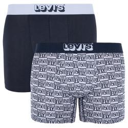 2PACK pánské boxerky Levis vícebarevné (995010001 703)