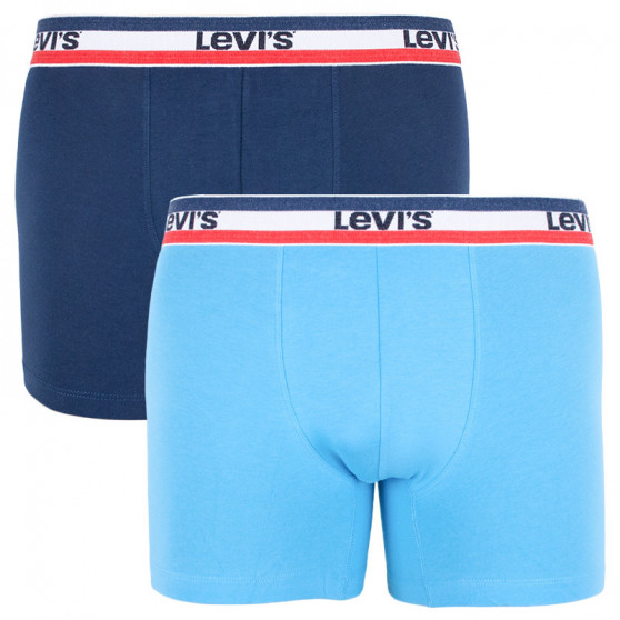 2PACK pánské boxerky Levis vícebarevné (985016001 056)