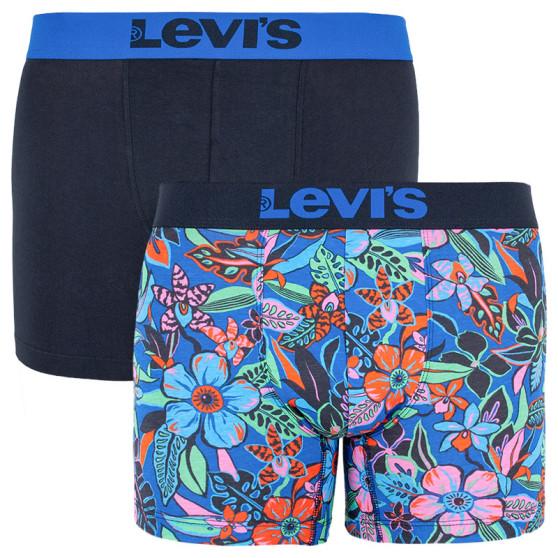 2PACK pánské boxerky Levis vícebarevné (995007001 056)